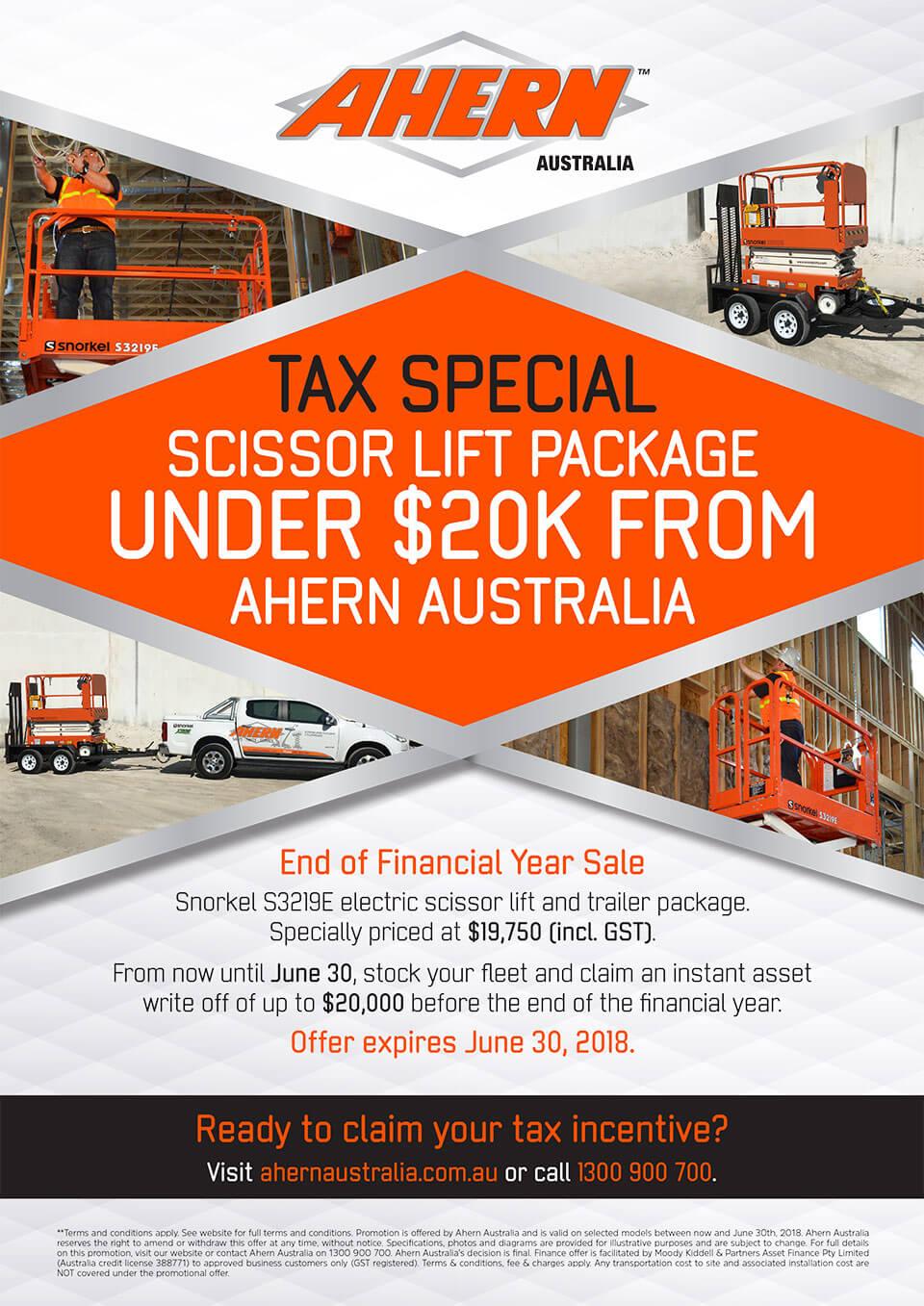 Tax Special: Scissor Lift Package